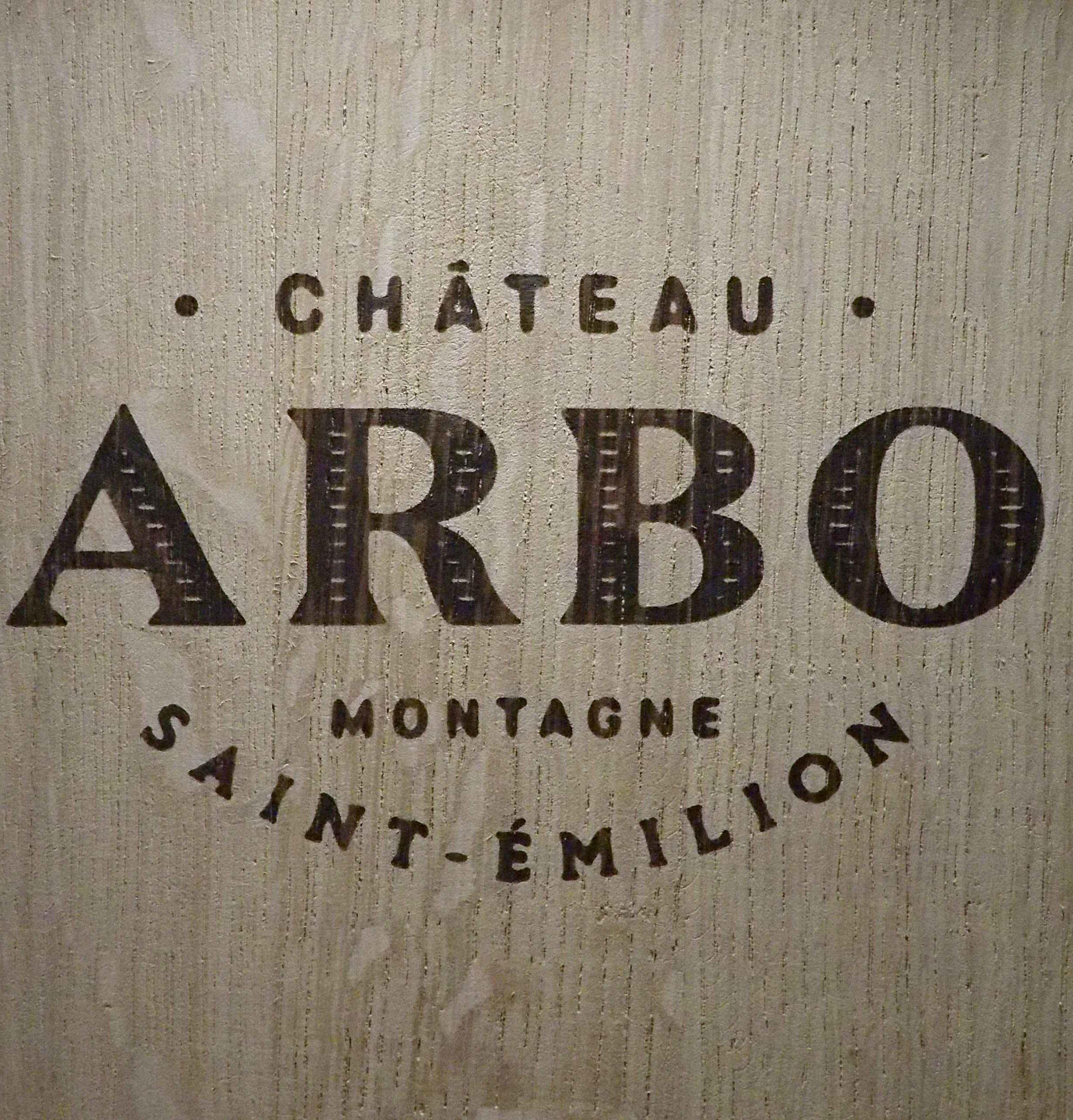 Château ARBO Barrique